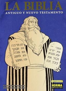 LA BIBLIA -  MANGA (DOS VOLUMENES + COFRE)