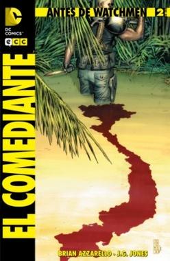 ANTES DE WATCHMEN EL COMEDIANTE # 02 DE 06