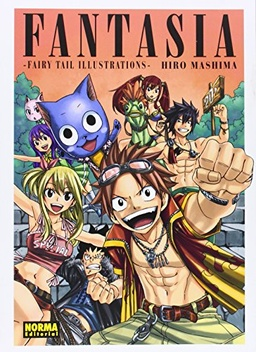 FANTASIA FAIRY TAIL ILLUSTRATIONS ARTBOOK