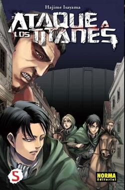 ATAQUE A LOS TITANES # 05