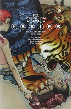 FABLES THE DELUXE EDITION BOOK 1