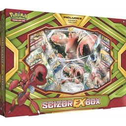POKEMON SCIZOR EX BOX