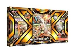 POKE MEGA EX BOX CAMERUPT/SHARPEDO
