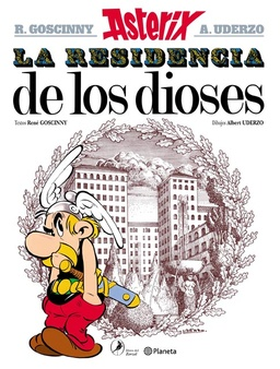 ASTERIX # 17 LA RESIDENCIA DE LOS DIOSES