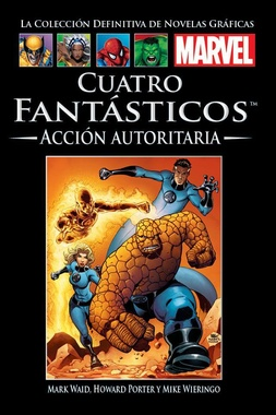 COLECC. DEF. MARVEL # 41 - (26) CUATRO FANTASTICOS ACCION AUTORITARIA