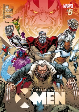 EXTRAORDINARIOS X-MEN # 05