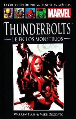 COLECC. DEF. MARVEL # 57 - (55) THUNDERBOLTS CON FE EN LOS MONSTRUOS