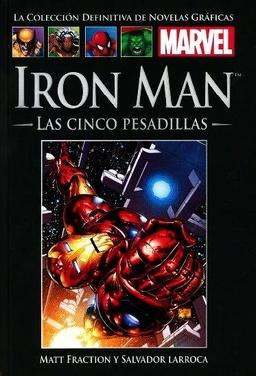 COLECC. DEF. MARVEL # 58 - (58) IRON MAN LAS CINCO PESADILLAS