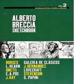 ALBERTO BRECCIA VOL. 02 SKETCHBOOK