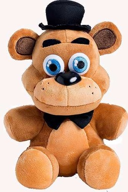 PELUCHE FIVE NIGHTS AT FREDDY FREDDY - MARRON