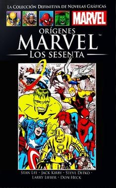 COLECC. DEF. MARVEL # 62 - (IC) ORIGENES MARVEL LOS SESENTA