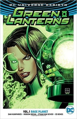GREEN LANTERNS VOL 1 RAGE PLANET TPB (REBIRTH)