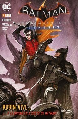 BATMAN: ARKHAM KNIGHT - GÉNESIS # 03