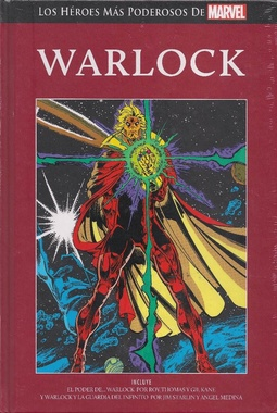 HEROES PODEROSOS MARVEL # 34 - WARLOCK