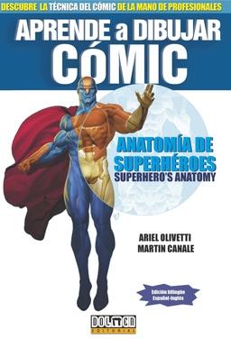 APRENDE A DIBUJAR COMICS ANATOMIA DE SUPERHEROES