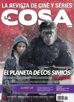 LA COSA # 244 EL PLANETA DE LOS SIMIOS