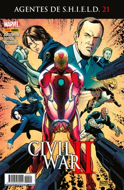 AGENTES DE SHIELD # 21 (CIVIL WAR II)