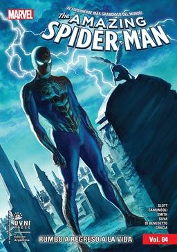 AMAZING SPIDERMAN TOMO # 04 - RUMBO A REGRESO A LA VIDA