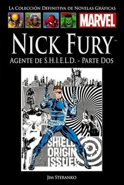 COLECC. DEF. MARVEL # 74 - (XI) NICK FURY AGENTE DE SHIELD PARTE DOS