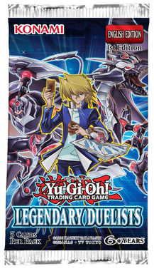YGO BOOSTER X 5 - LEGENDARY DUELISTS