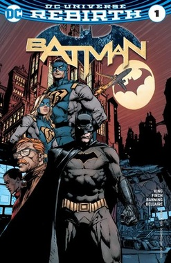BATMAN # 01: YO SOY GOTHAM