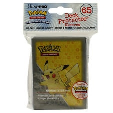 DECK PROTECTOR ULTRA PRO POKEMON PICACHU X 65