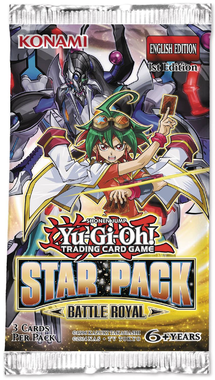 YGO BOOSTER X 3 - STAR PACK BATTLE ROYAL