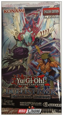 YGO BOOSTER X5 - DUELIST PACK DIMENSIONAL GUARDIANS