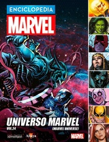 ENCICLOPEDIA MARVEL 2017 # 99 UNIVERSO MARVEL VOL. 24