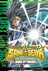 THE LOST CANVAS # 36 SAINT SEIYA