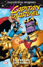 CAPITAN MARVEL # 02. EL ENGAÑO DE THANOS