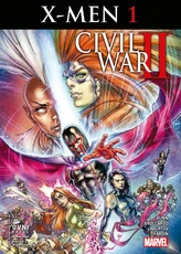 CIVIL WAR II - X MEN # 01