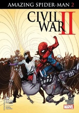 CIVIL WAR II - AMAZING SPIDERMAN # 02
