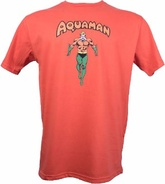REMERA AQUAMAN (ANARANJADA)