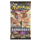 POKEMON BOOSTER X 10 CARTAS - SUN & MOON - FORBIDDEN LIGHT