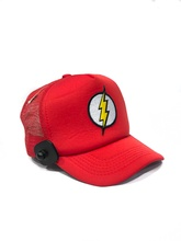 GORRA LOGO FLASH ROJA (CON RED)
