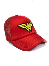 GORRA LOGO WONDER WOMAN ROJA (CON RED)