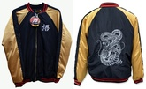CAMPERA DRAGON BALL NEGRA Y DORADA
