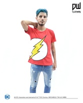 REMERA FLASH LOGO (ROJA)
