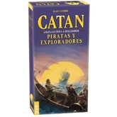 CATAN - PIRATAS Y EXPLORADORES AMPLIACION 5-6 JUGADORES