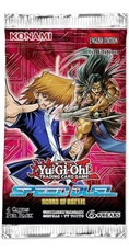 YUGIOH BOOSTER X 4 CARTAS - SPEED DUEL: SCARS OF BATTLE