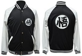 CAMPERA DRAGON BALL NEGRA Y BLANCA