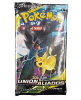 POKEMON BOOSTER X 10 CARTAS - SOL Y LUNA - UNION DE ALIADOS