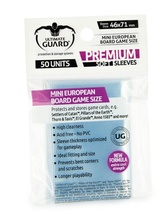 PROTECTORES ULTIMATE GUARD PREMIUM MINI EUROPEAN X 50 (46X71 CM)