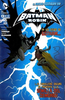 BATMAN Y ROBIN # 02