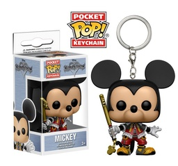 FUNKO POP! KEYCHAIN KINGDOM HEARTS DISNEY MICKEY