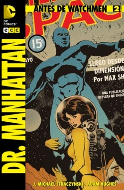 ANTES DE WATCHMEN DR MANHATTAN # 02 DE 04