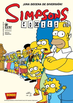 SIMPSONS COMICS # 10