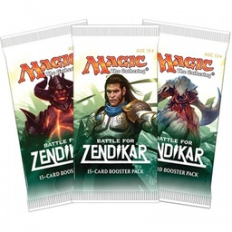 MAGIC BOOSTER X 15 CARTAS - LA BATALLA DE ZENDIKAR