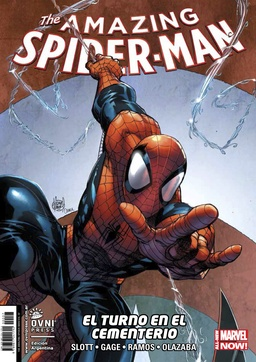 AMAZING SPIDERMAN # 07 EL TURNO EN EL CEMENTERIO